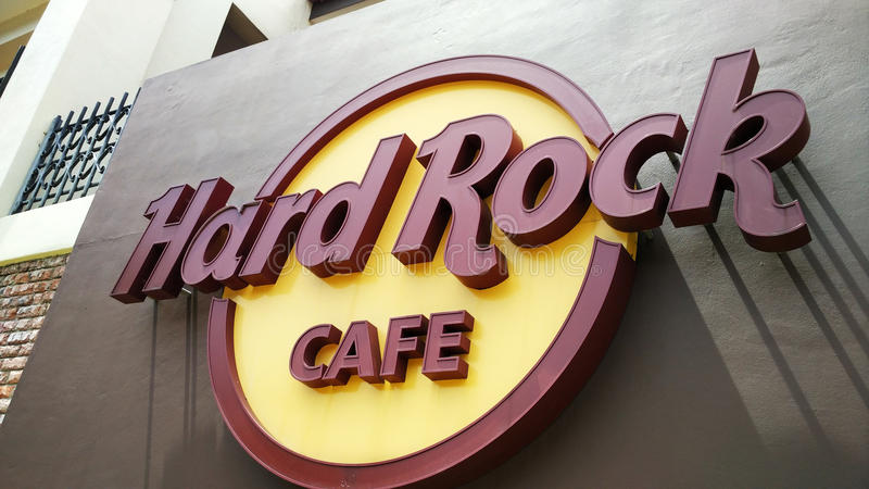 Hard Rock Cafe dans Melaka photo stock