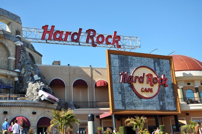 Hard Rock Cafe en Orlando universal imagenes de archivo