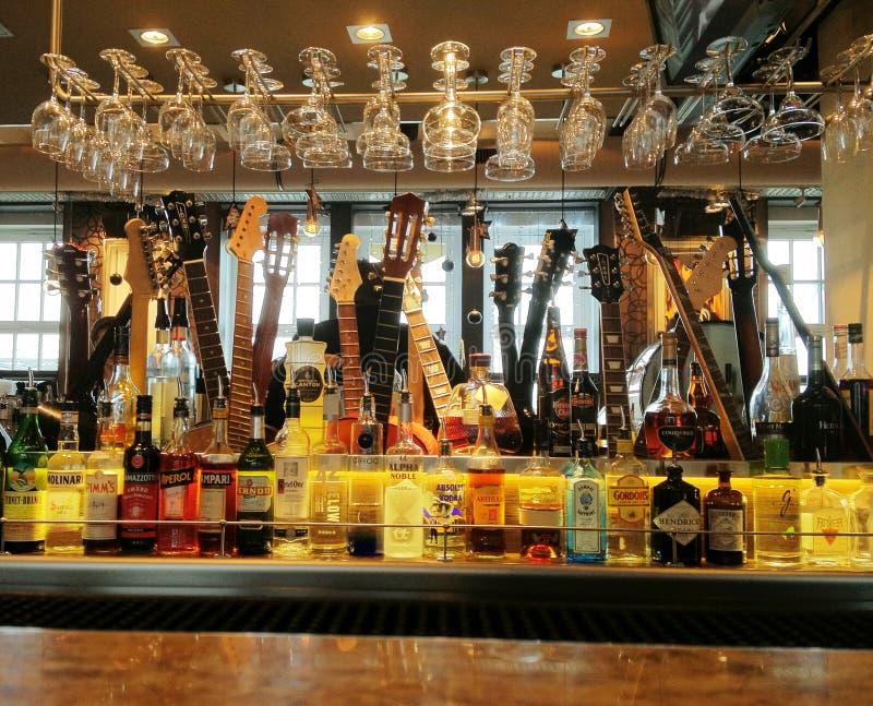 Hard Rock Cafe i Tyskland royaltyfria foton