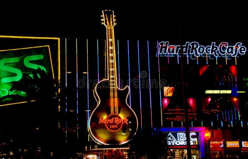 Hard Rock Cafe Las Vegas photographie stock