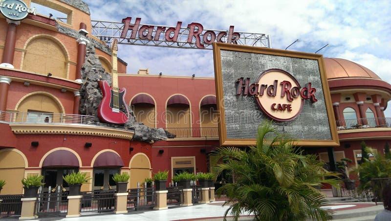 Hard Rock Cafe royalty free stock image