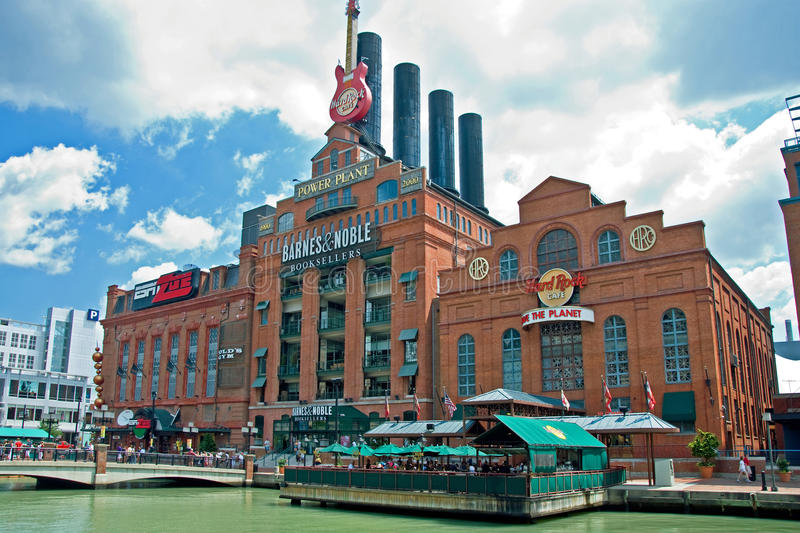 Hard Rock Cafe Power Plant in Baltimore Maryland