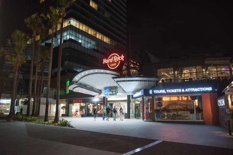 Hard Rock Cafe Sydney fotografia stock libera da diritti