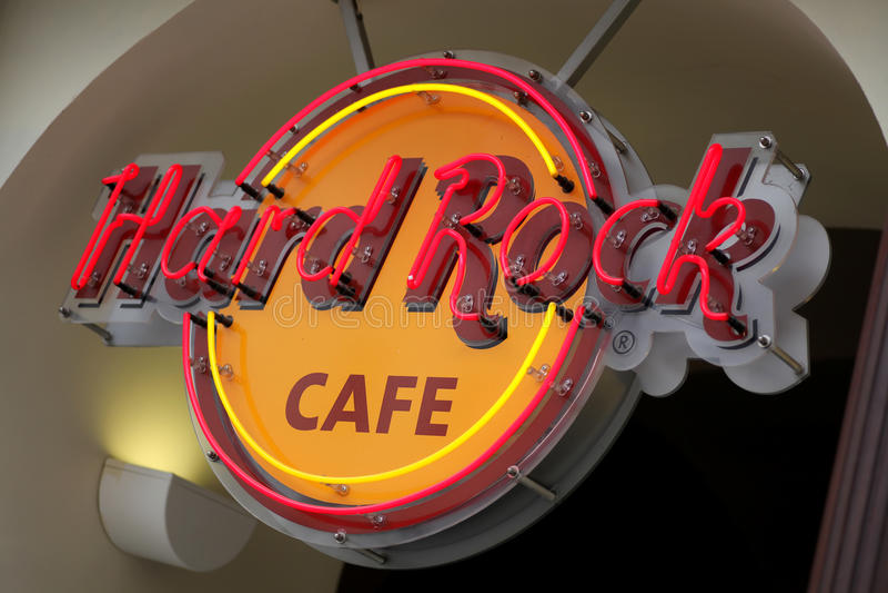 Hard Rock Kawiarnia obraz royalty free