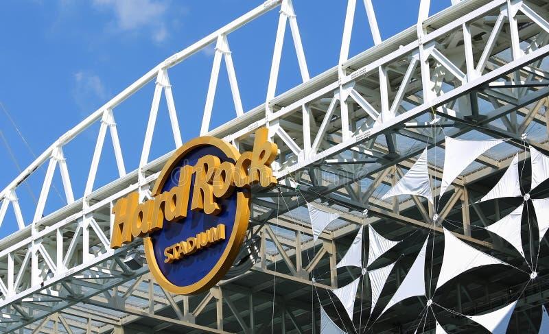 Hard Rock Stadium stock photography