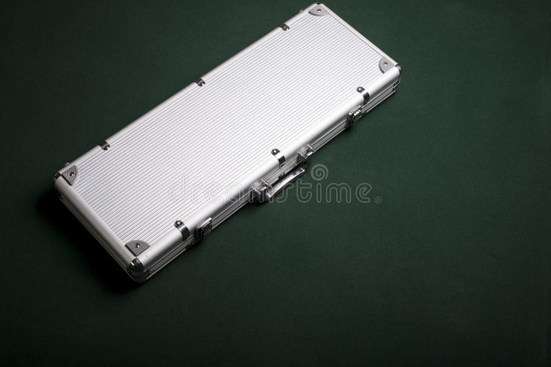 Download Hard suitcase stock image. Image of case, silver, carry - 14040057