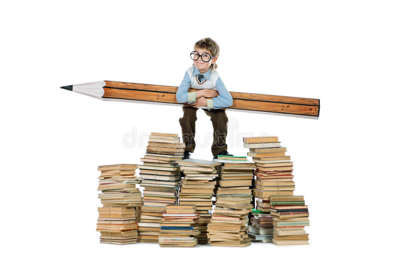 Hard to study royalty free stock images