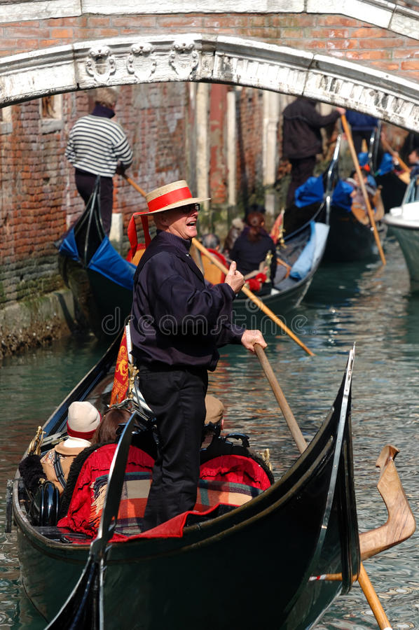 Download Hard Traffic At Venice Canals,Italy Editorial Photo - Image: 21549146