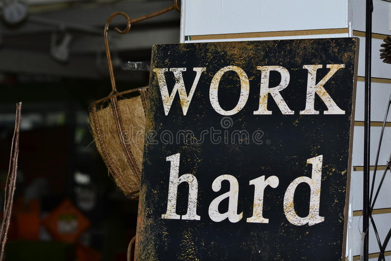 Hard Word stock foto's