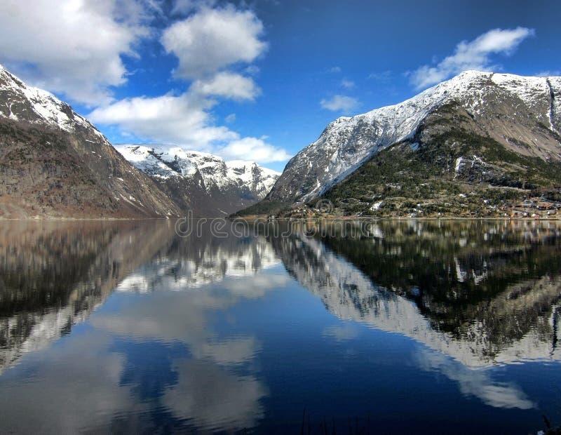 hardanger Норвегия фьорда стоковые фото