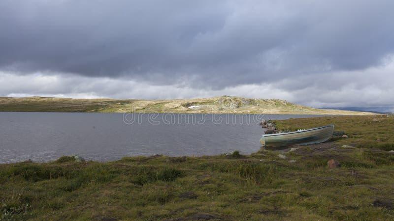 Hardangervidda, Noruega imágenes de archivo libres de regalías