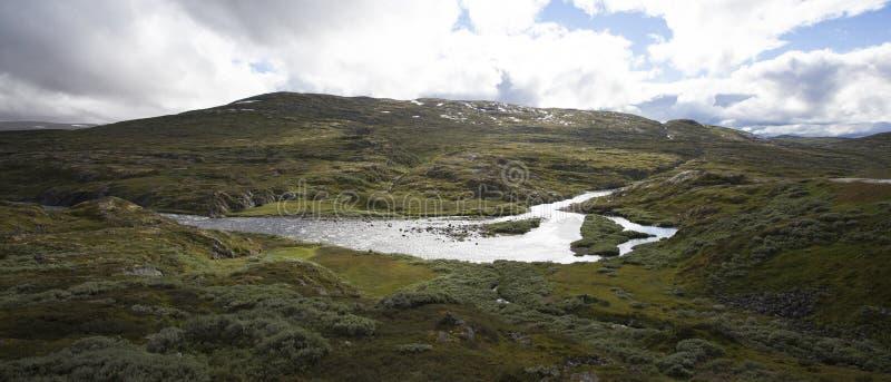 Hardangervidda, Noruega imagen de archivo