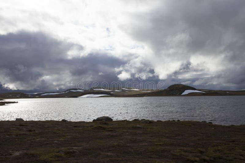 Hardangervidda, Noruega fotografía de archivo libre de regalías