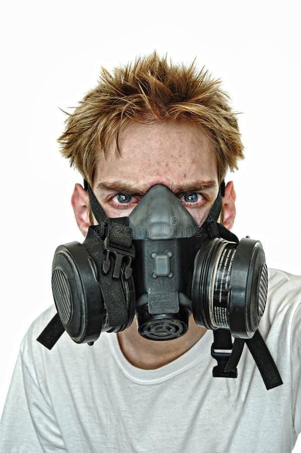 Hardcore Gasmask stock photography