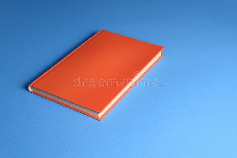 Hardcover-Buchmotte stockbild
