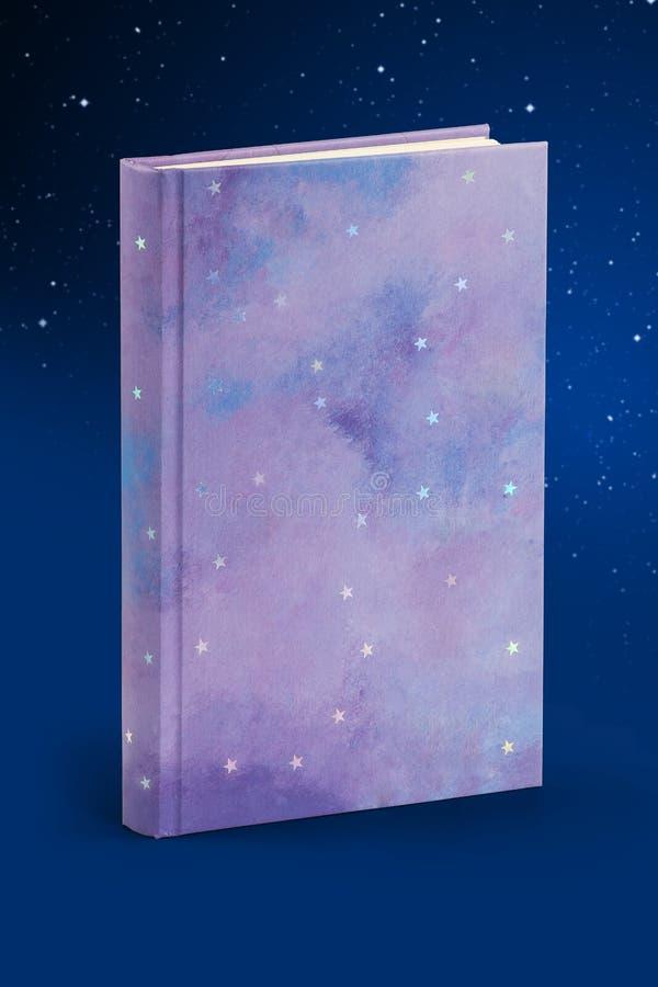 Hardcover książka gwiazdy - ścinek ścieżka zdjęcie stock