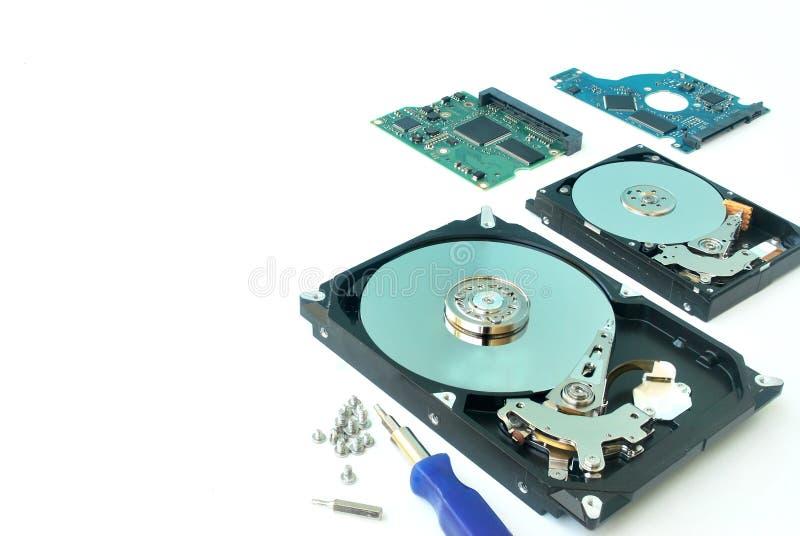 Harddisk komputer osobisty obrazy stock