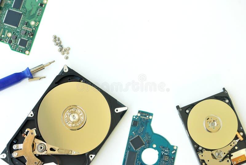 Harddisk komputer osobisty fotografia stock