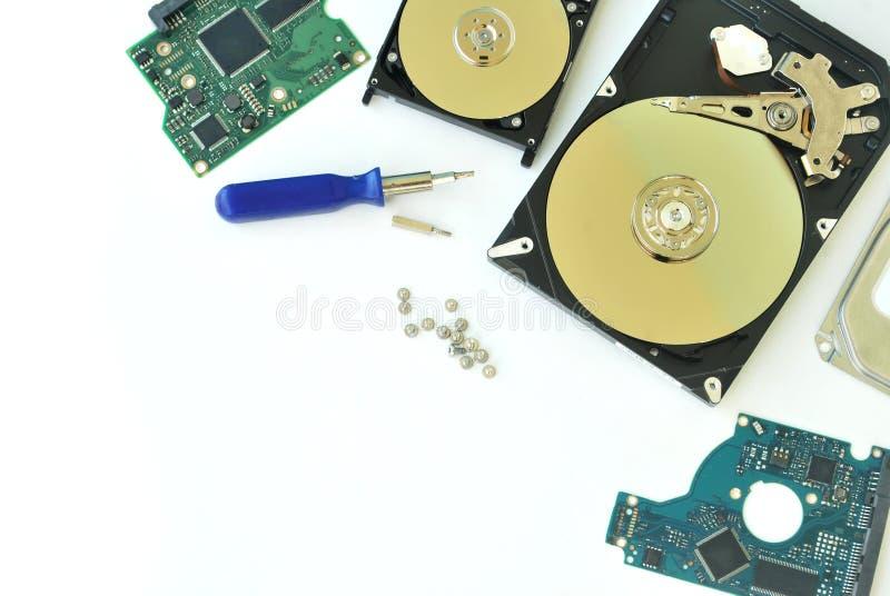 Harddisk komputer osobisty zdjęcie stock
