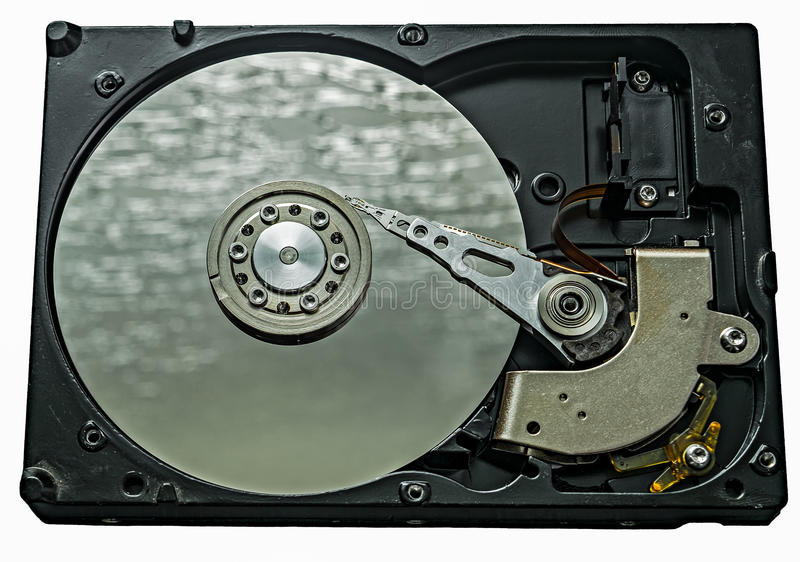 Harddrive硬盘驱动器 图库摄影