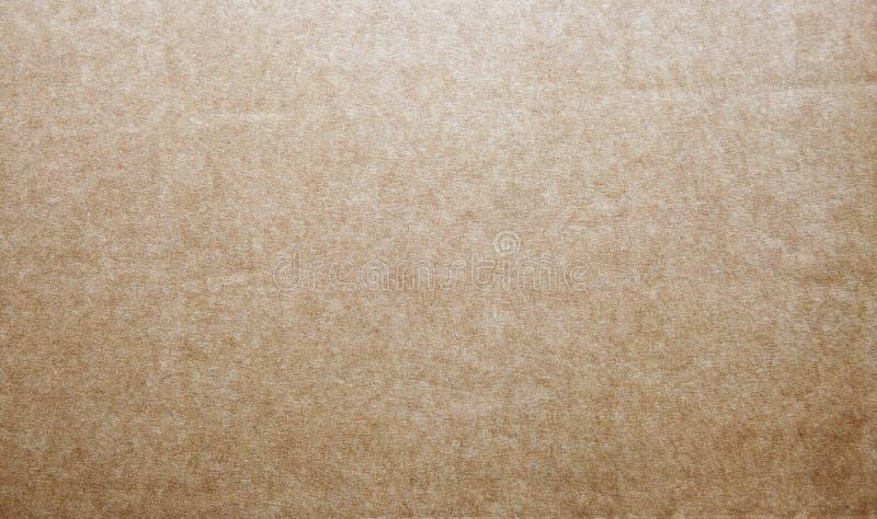 Harde bruine kraftpapier-document achtergrond met texturen royalty-vrije stock foto