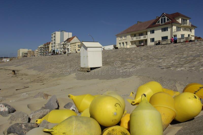 Hardelot-Strand in Nord-Pasde Calais lizenzfreies stockfoto