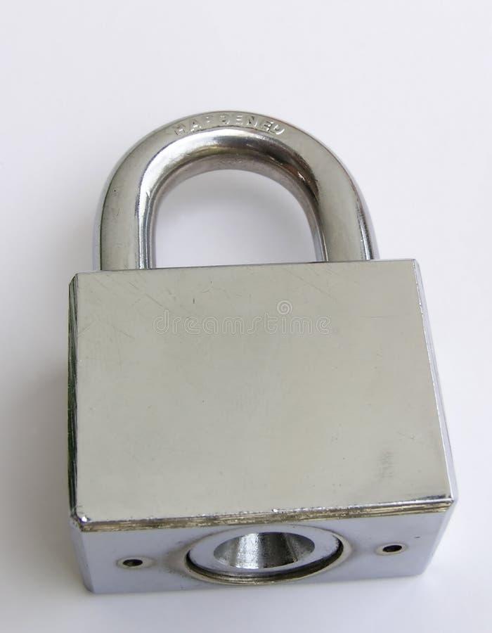 Download Hardened lock stock photo. Image of hardened, lock, chrome - 10704
