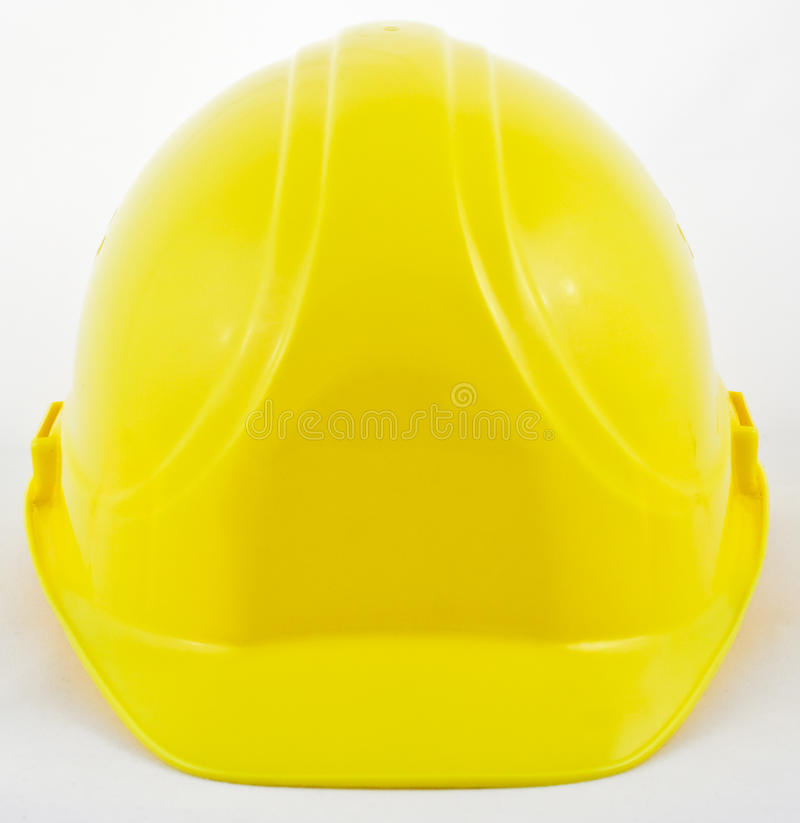 hardhat klasyczny kolor żółty obrazy stock