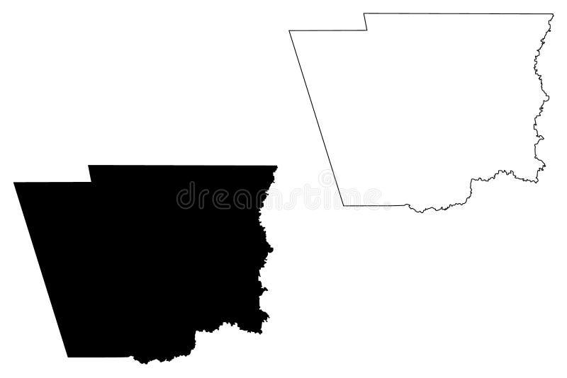 Hardin okręg administracyjny, Teksas okręgi administracyjni w Teksas, Stany Zjednoczone Ameryka, usa, U S , USA mapy wektorowa il ilustracji