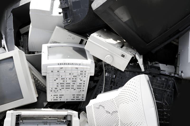 Hardware-Computer-CRT-Überwachungsgerät bereiten Industrie auf stockfotos