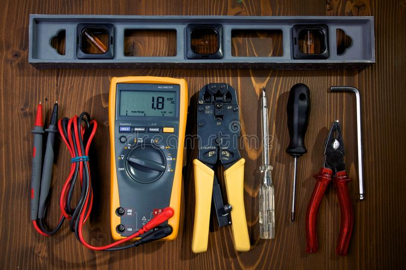 Download Hardware Tools stock image. Image of carpentry, iron - 17910813