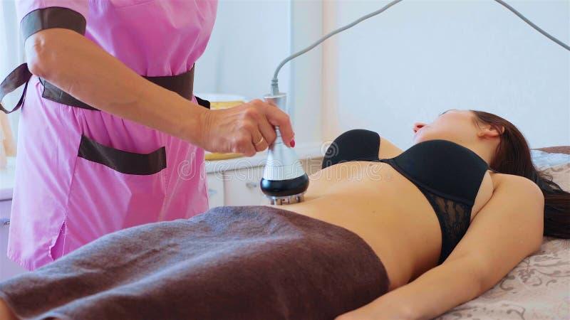 Hardware-Zahl Korrektur Maschine Cosmetology Anti-Cellulitemassage lizenzfreies stockbild