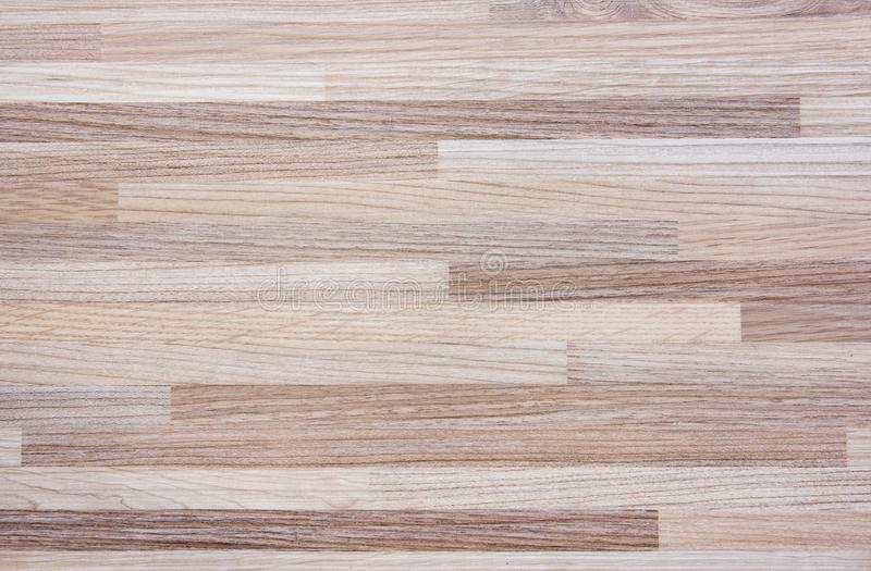 Hardwood maple basketball court floor viewed from above. Background vector illustration