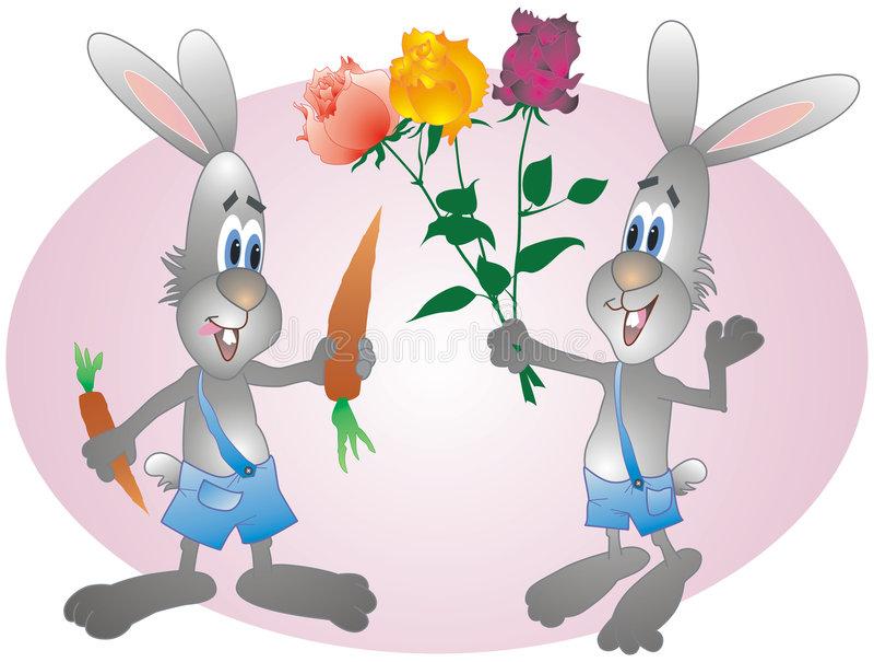 hare royalty ilustracja