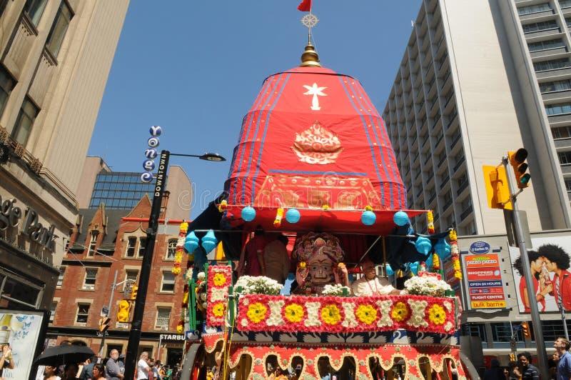 Hare Krishna Rally. arkivbilder