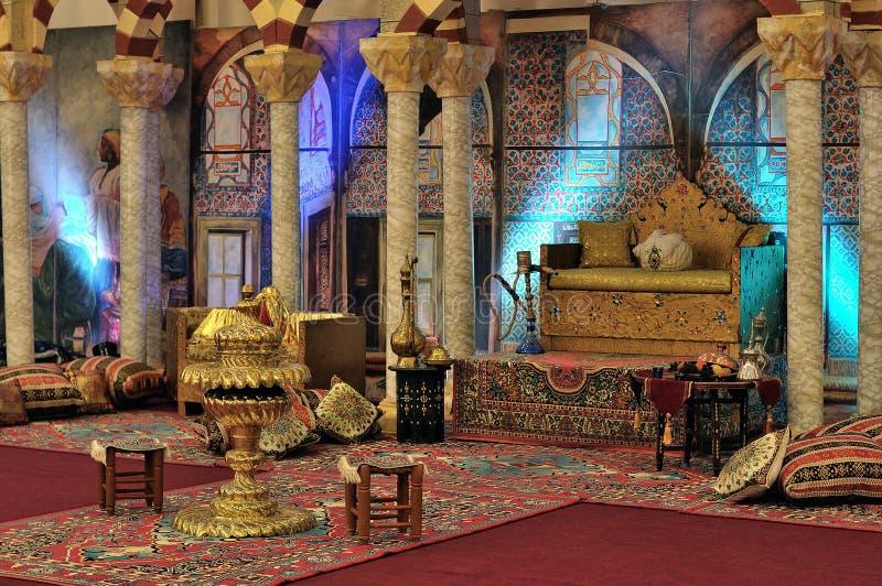Harem bij het paleis Topkapi in Istanboel stock foto