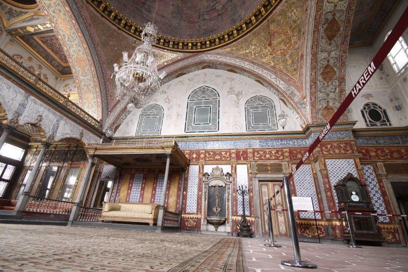 Harem do palácio de Topkapi foto de stock royalty free