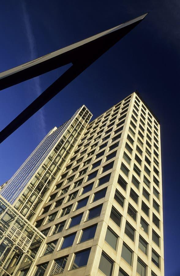 Harenberg-Building, fine arts royalty free stock photo
