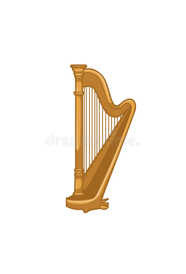 harfa ilustracji
