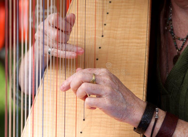 Harfe stockbilder