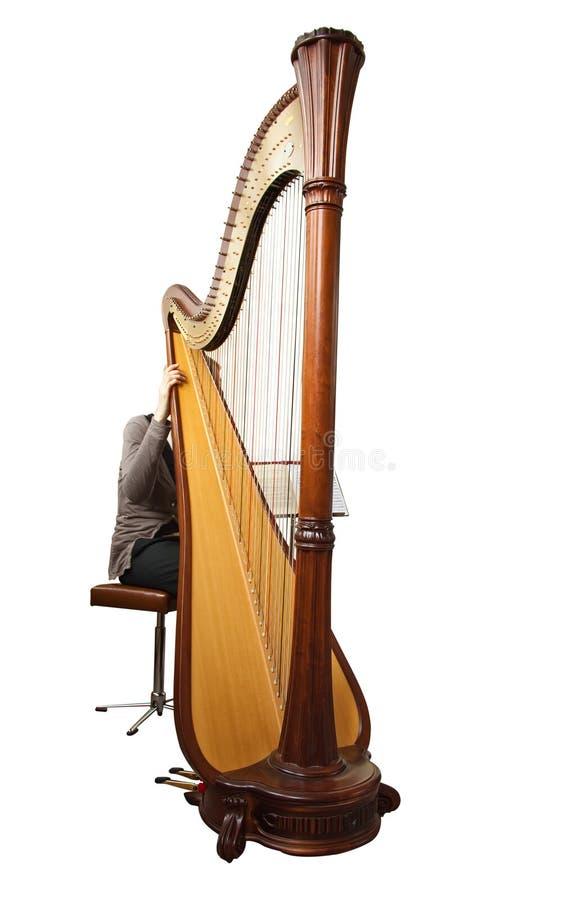 Harfe lizenzfreies stockbild