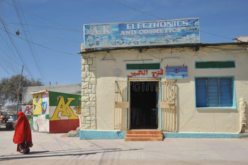 Hargeisa è una città in Somalia fotografia stock libera da diritti