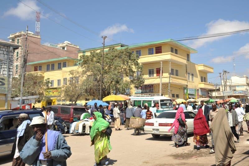Hargeisa is een stad in Somalië royalty-vrije stock foto's