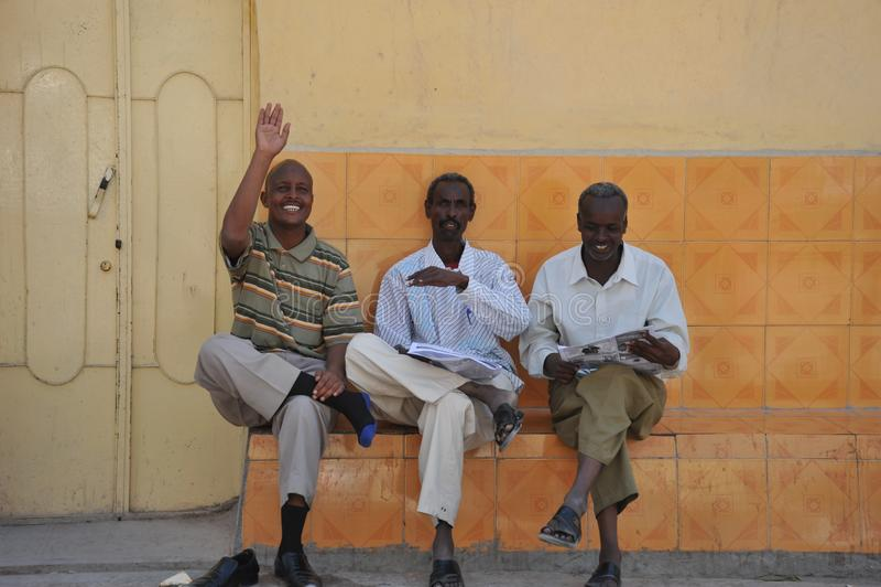 Hargeisa is een stad in Somalië royalty-vrije stock afbeeldingen