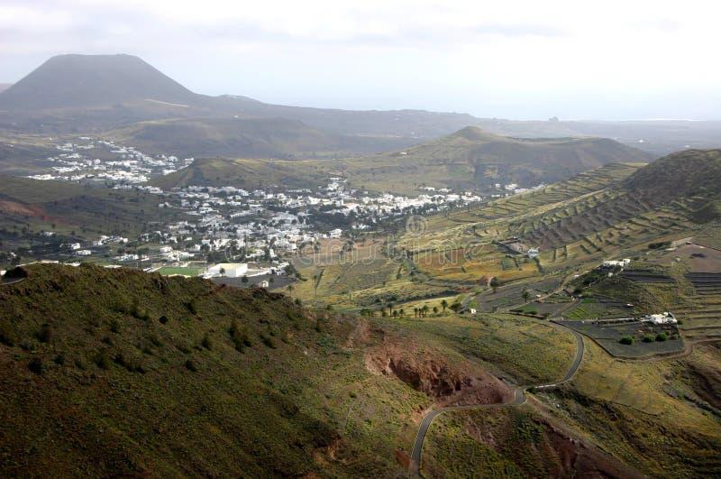 haria dale Lanzarote zdjęcia royalty free