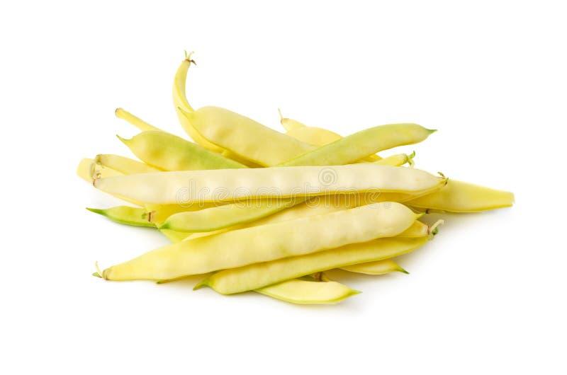 Haricots de cire jaunes photos libres de droits