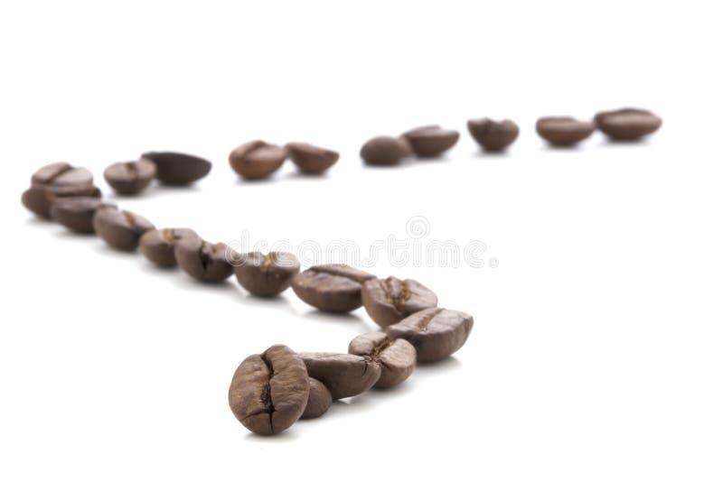 haricots de coffe - café express de caffe photographie stock libre de droits