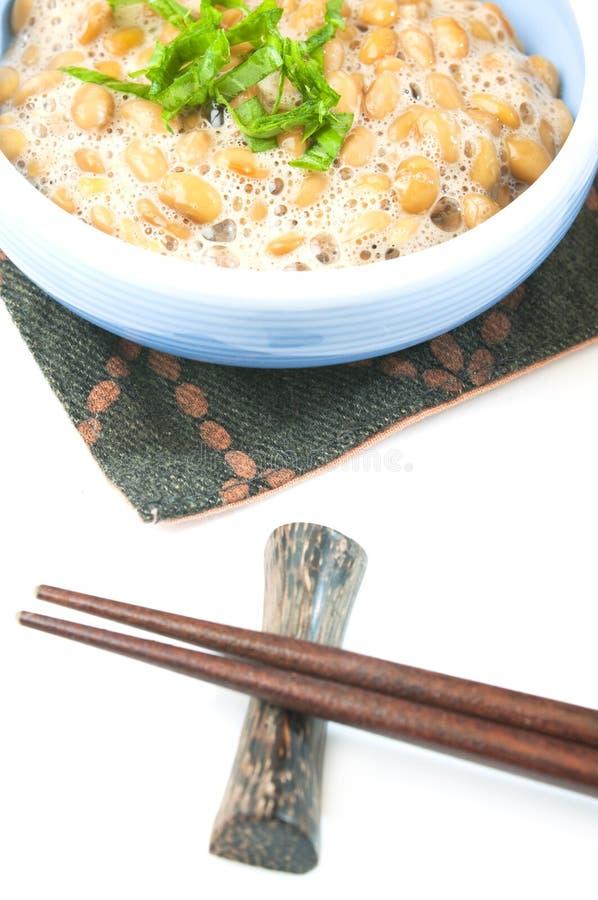 Haricots fermentés de soja images libres de droits