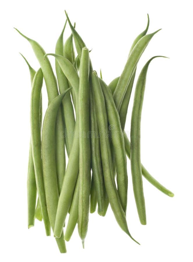 Haricots verts verts coupés par Français image stock