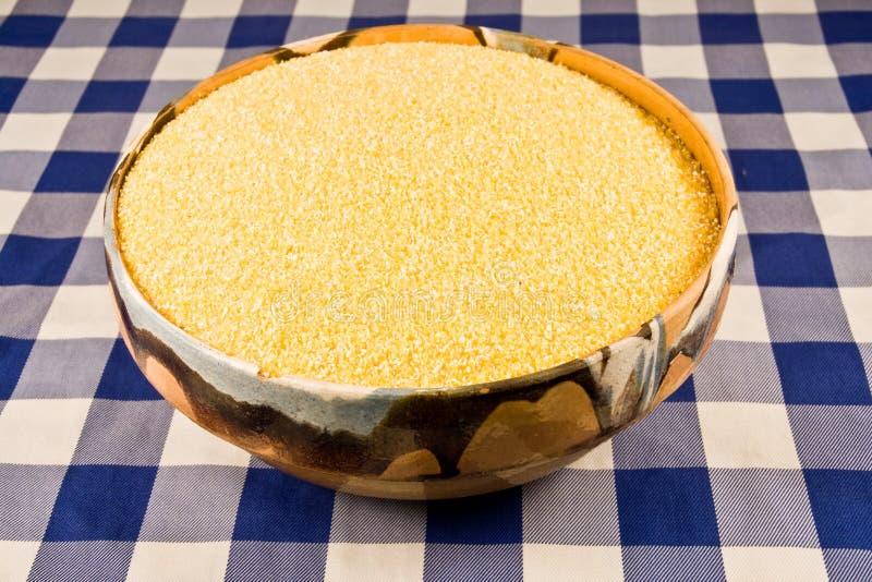 Harina de maíz imagenes de archivo